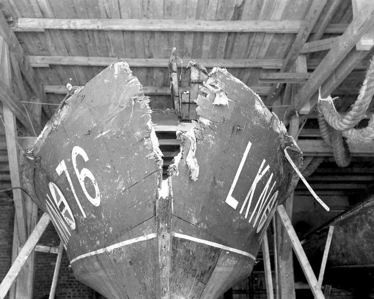 Båtkollisjon. LKN 76.