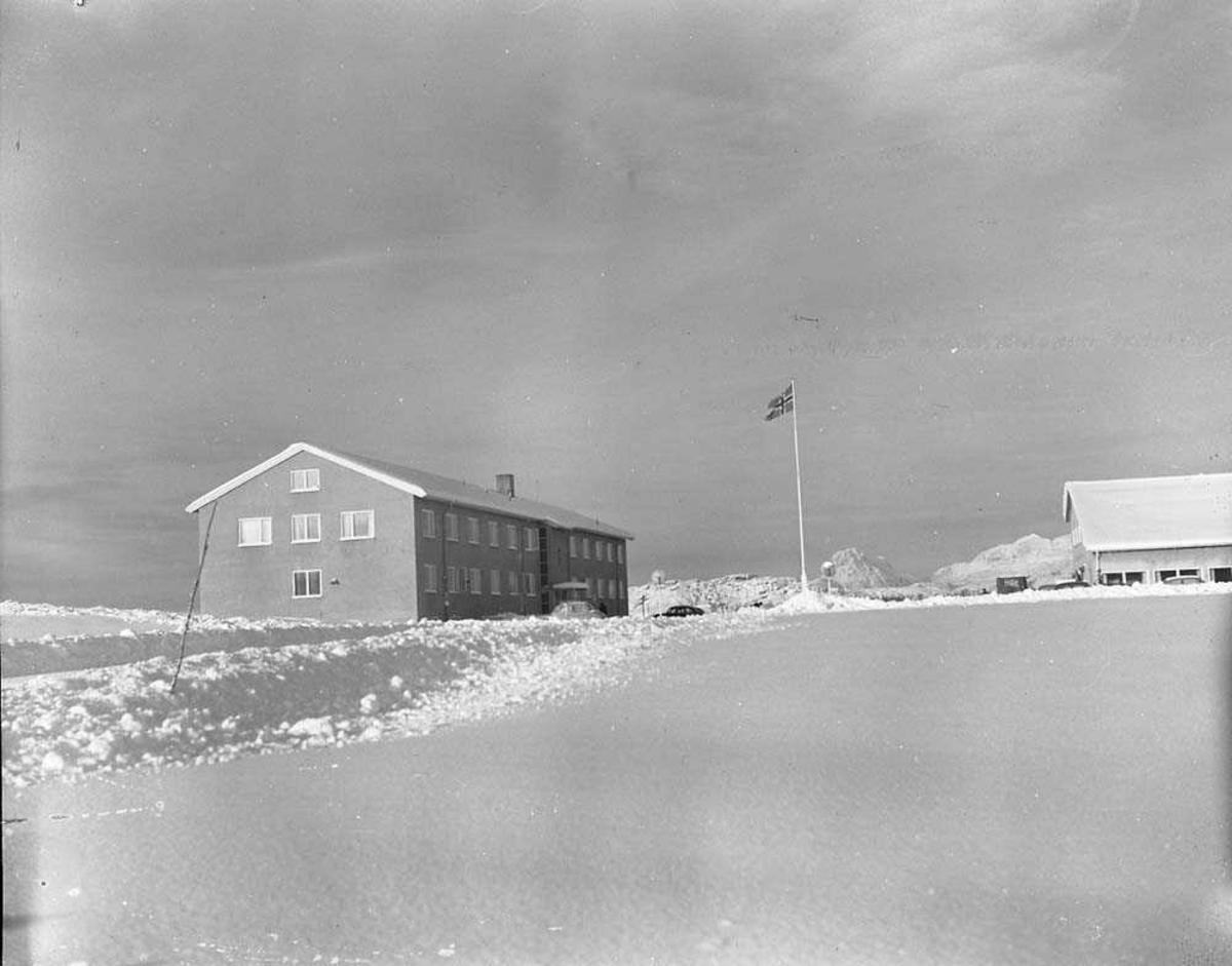 Hovedkvarteret på Bodø flystasjon.