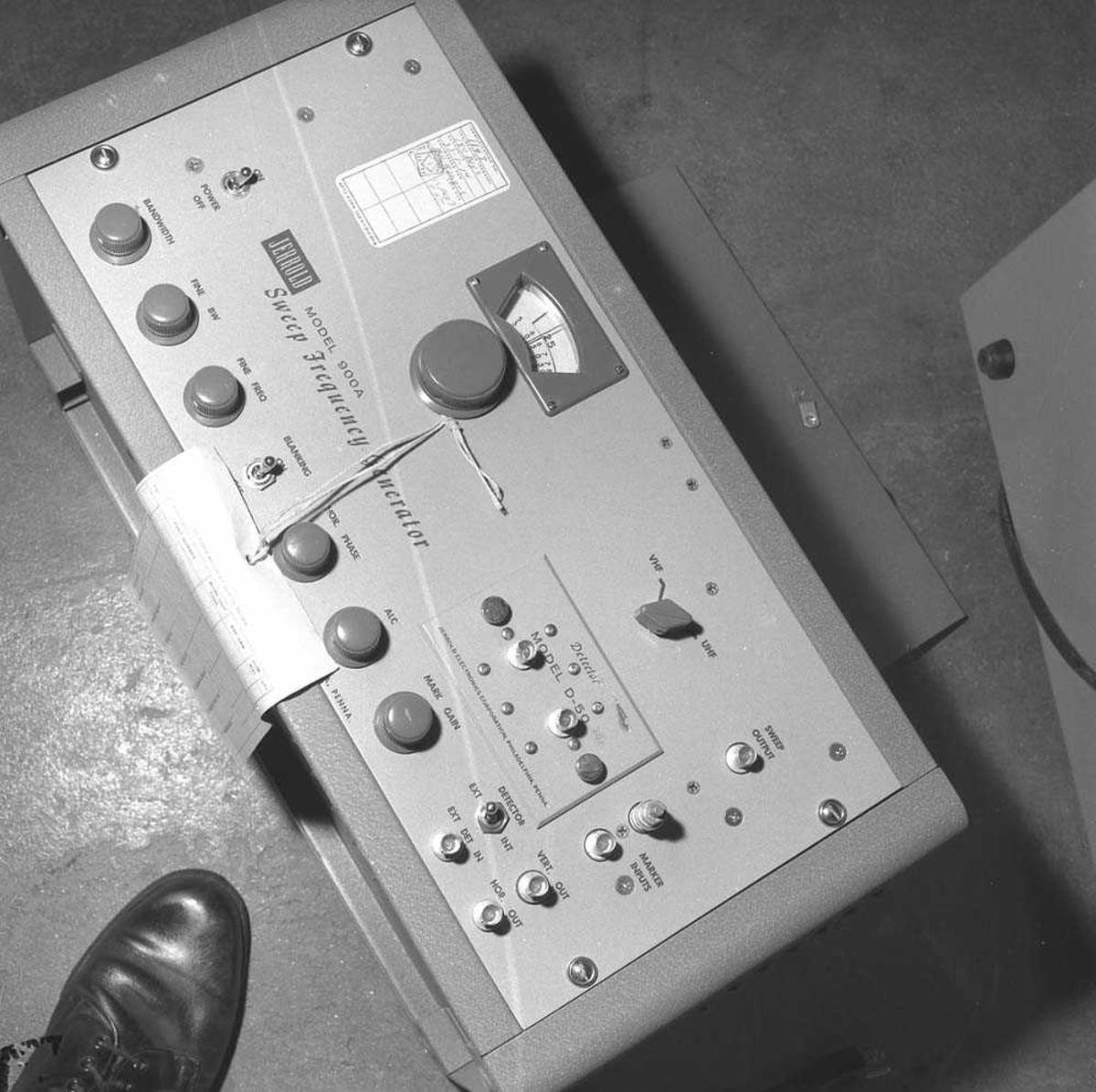 Skade på utstyr. MTU F-104-G.