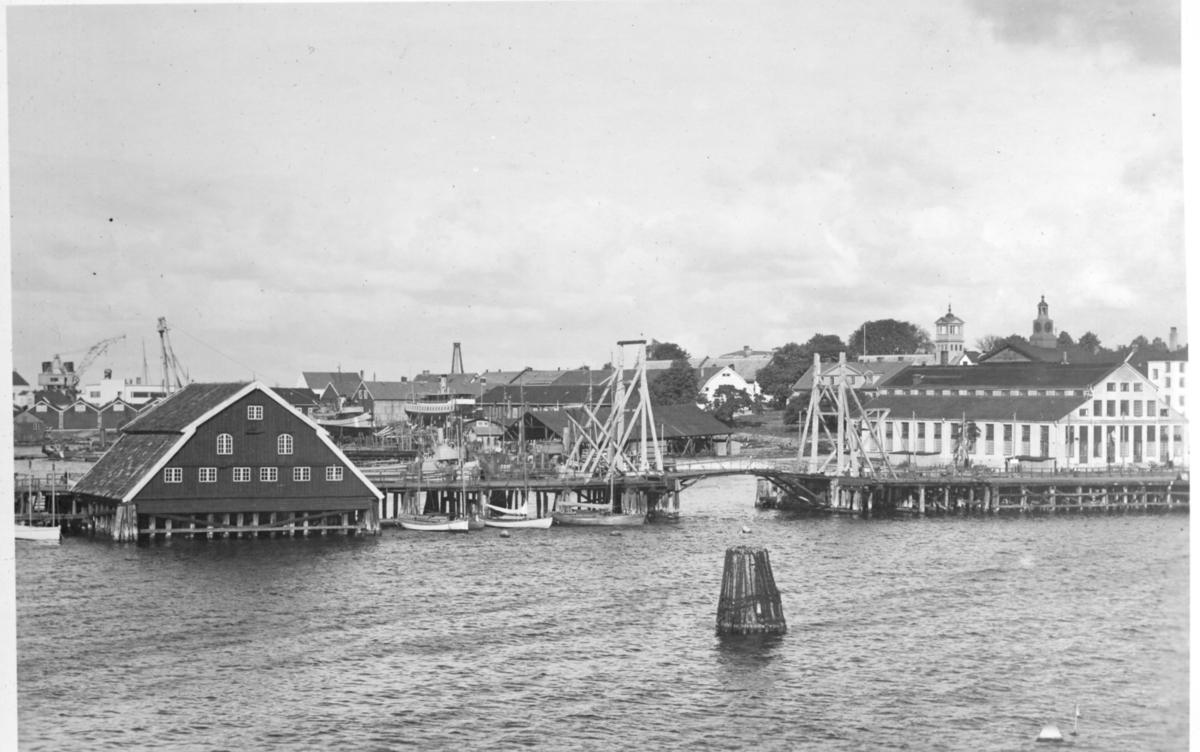 Lindholmsbron östra vindbryggan före ombyggnaden