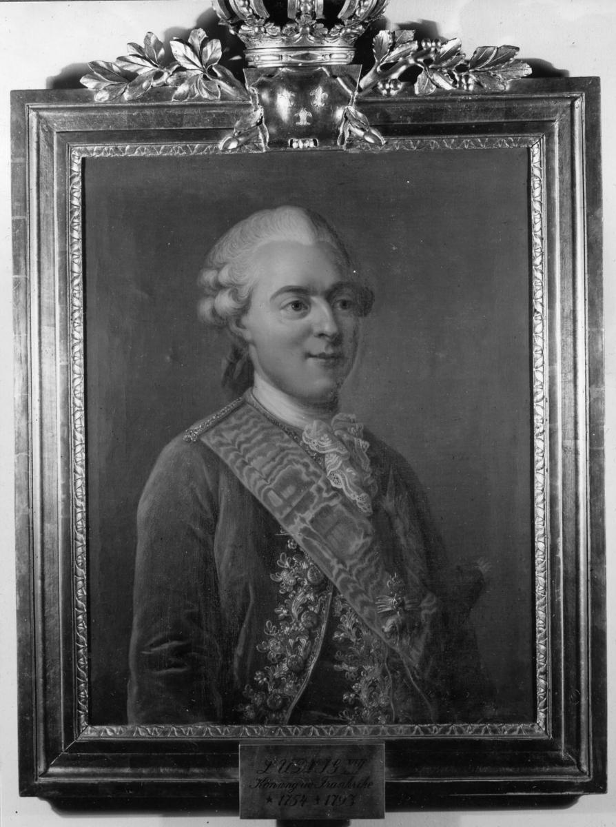 Övrigt: Inventarie i varvchefs bostället, Ludvig XVI Konung av Frankrike 1722-1796