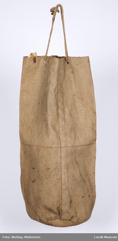 Seilmakerpose m. fetthorn, seilhanske og holdekrok