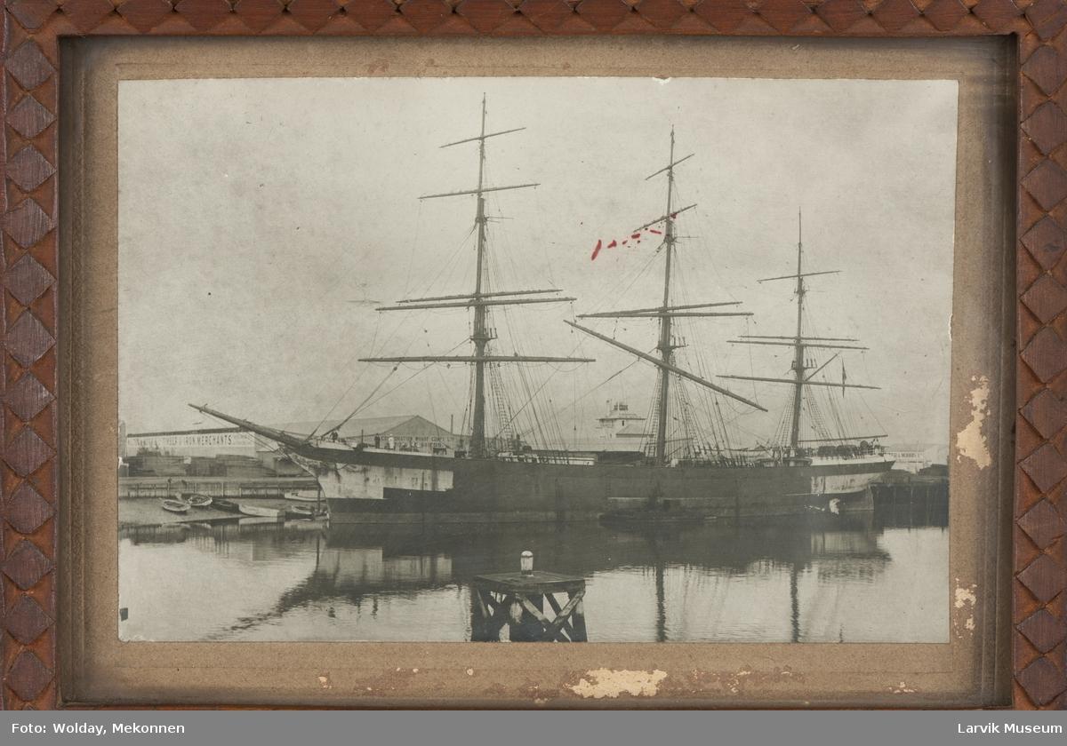 Fyllrigger Ilala av Larvik losser i Australia 1915