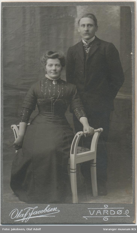 Portrett, Martha og Ole P. Strømme