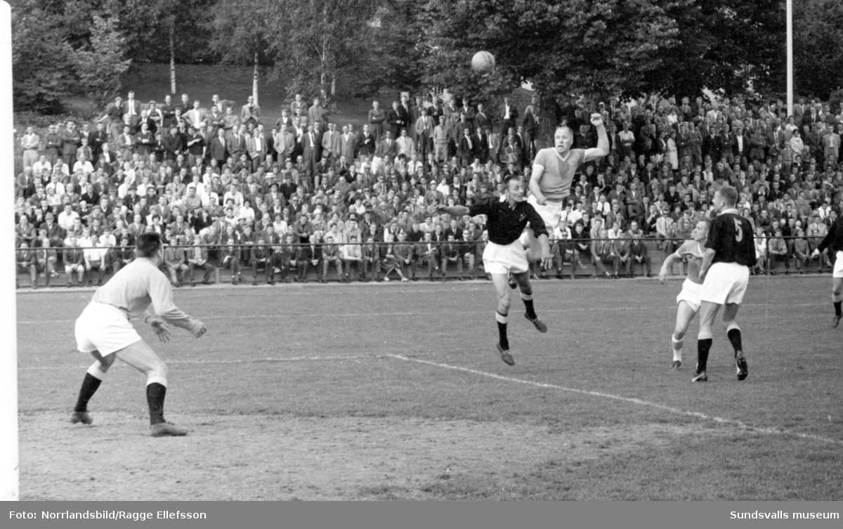 Fotboll, GIF-Luleå 7-1.