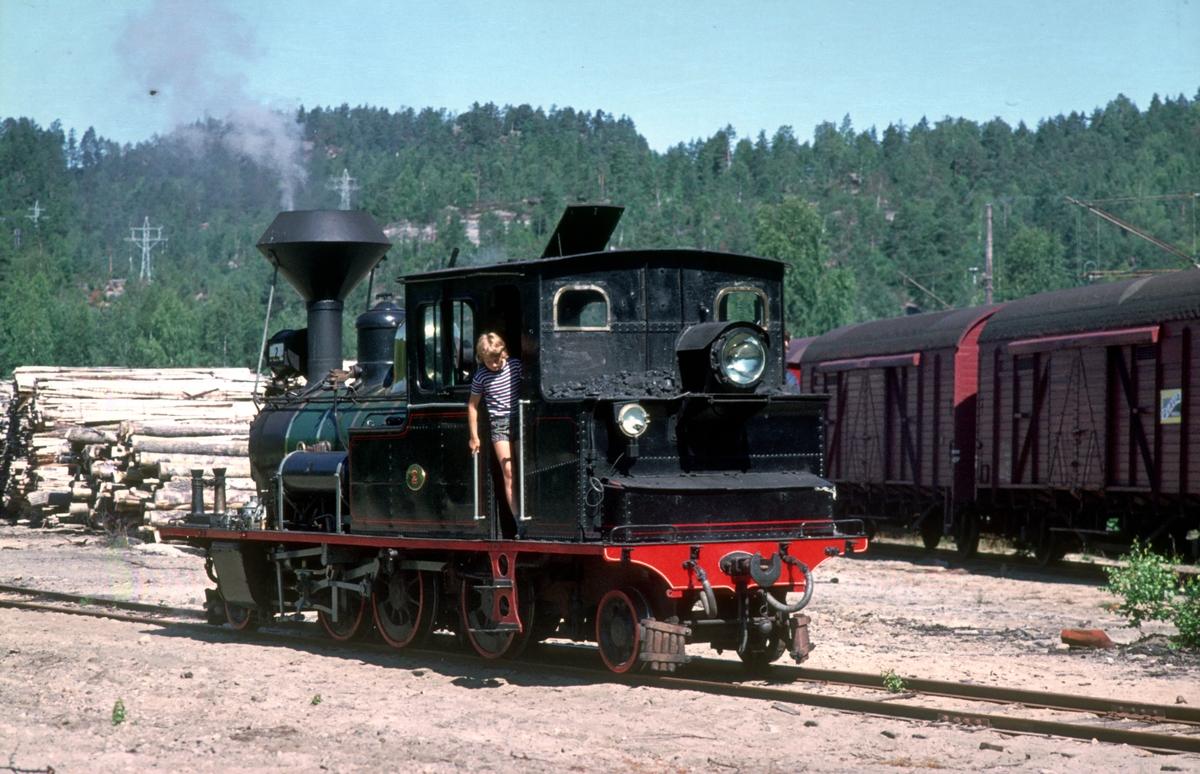 Setesdalsbanen. Damplokomotiv nr. 2.