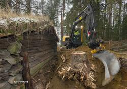 Gravearbeid ved Breisjønaustet (jfr. SJF-B.0011) i Norsk Sko