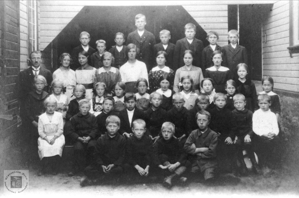 Skoleklasse Øyslebø