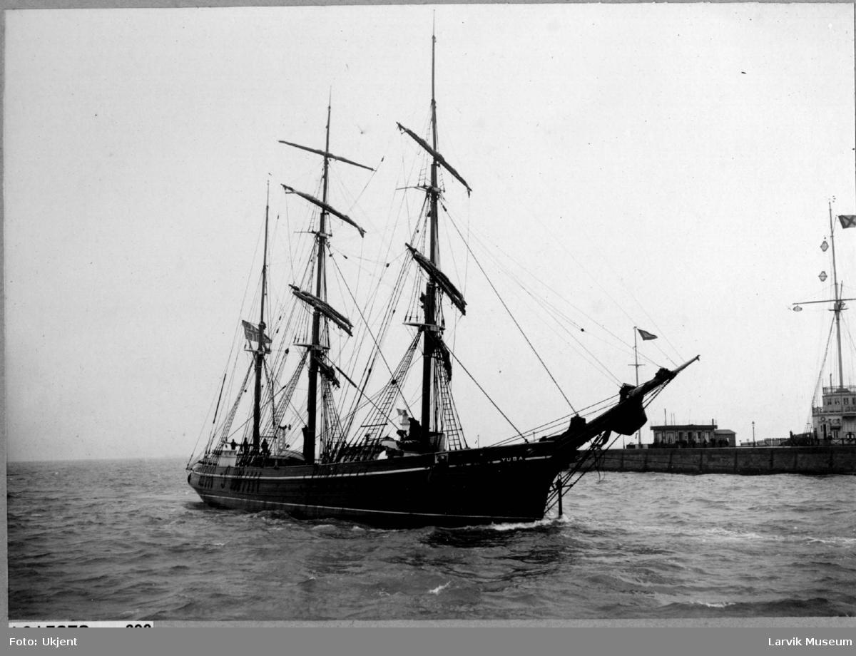 Barken Yuba av Larvik