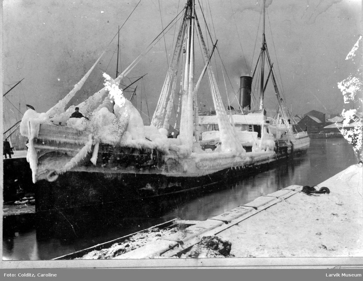 Fartøy, dampskipet d/s Erling.