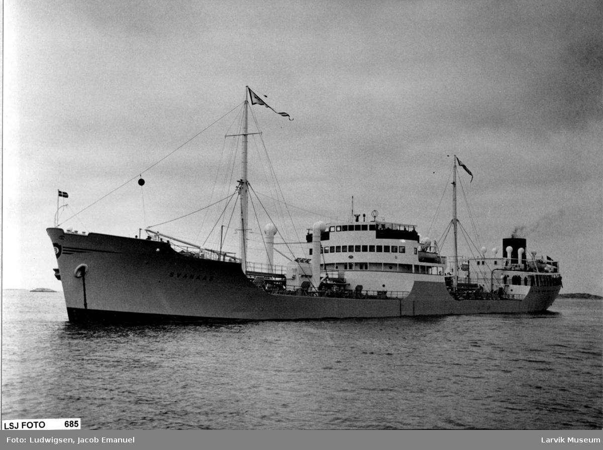 "fartøy, motortanker, M/T ""Svanaas"" av Larvik"