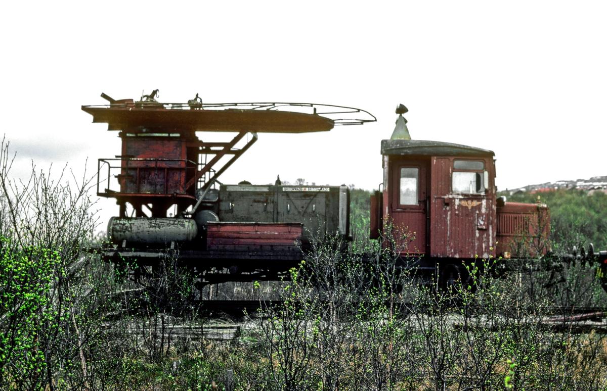 Tunnelrenskebukk Rm, tidligere smalsporet motorvogn Cmb 1.