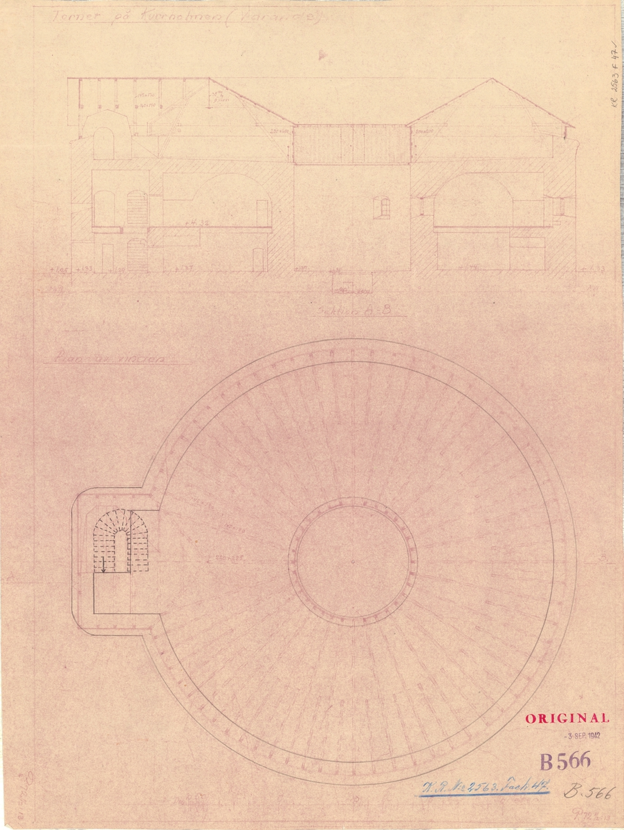 Tornet på Kurrholmen Planritning