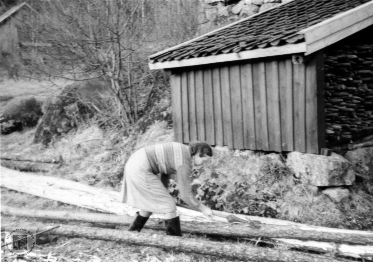 Tømmerbarking