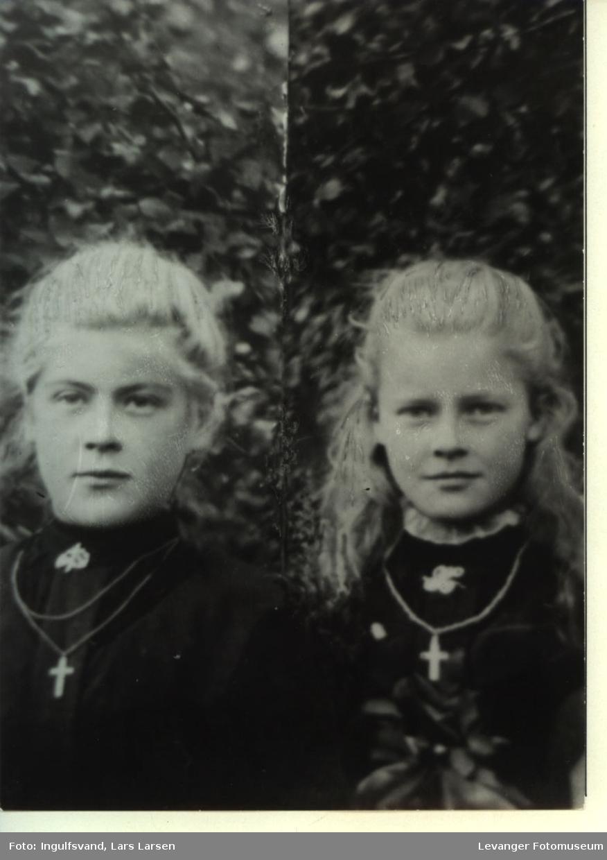 Portrett av søstre.