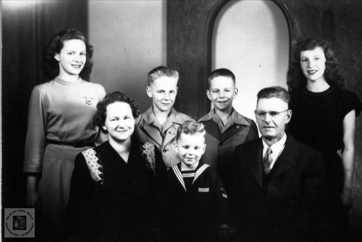 Familiegruppe Cleveland i USA