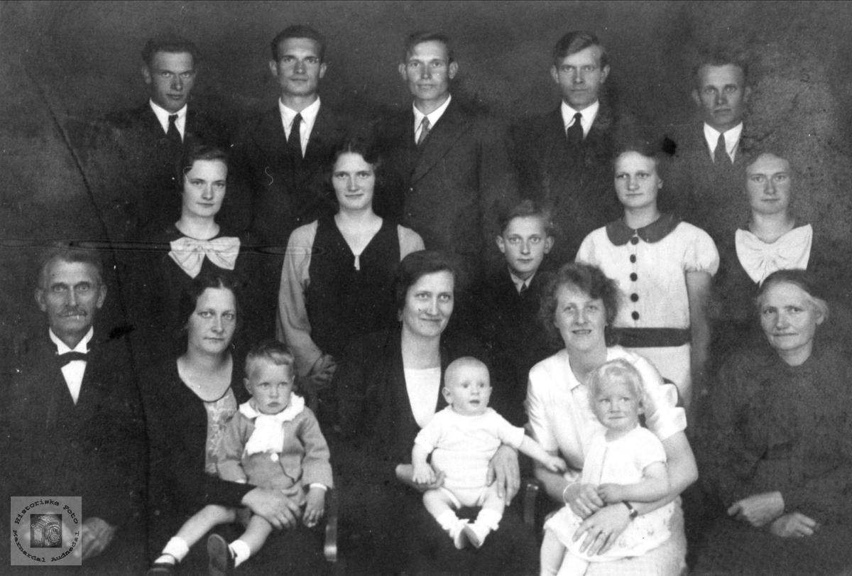 Ole Johnsen Nomes familie.
