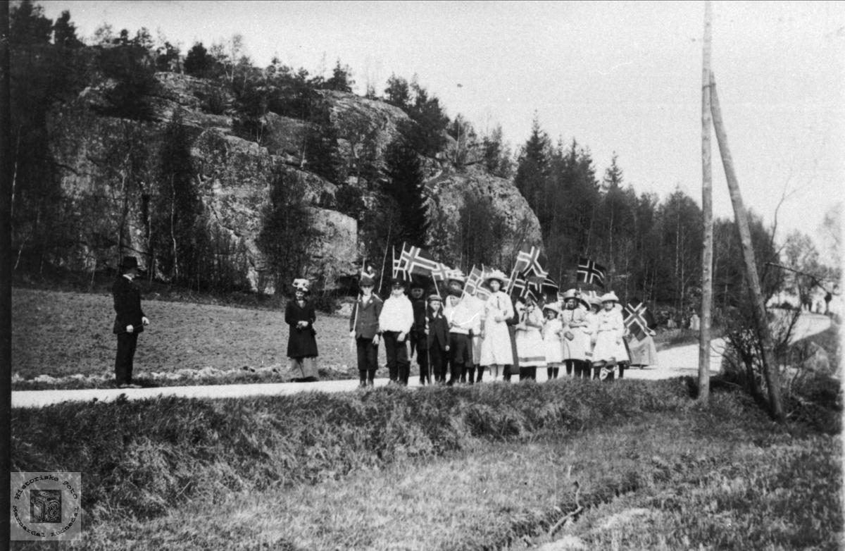 17. Mai 1910 - 14 Veum, Fredrikstad.