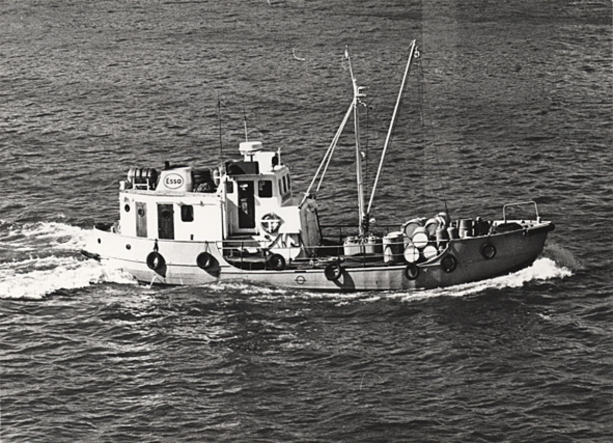Tankfartyget m/s ESSO MARIN 21 i Göteborg.