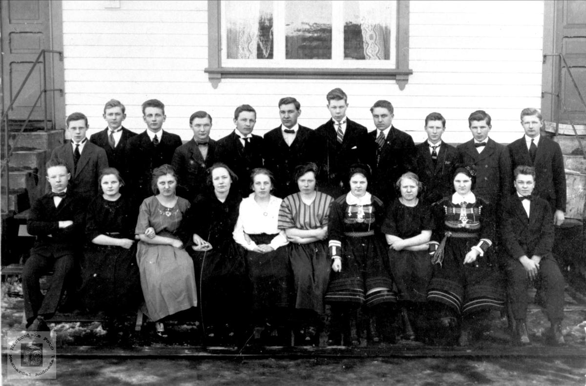 Skolebilde Birkeland Ungdomskole
