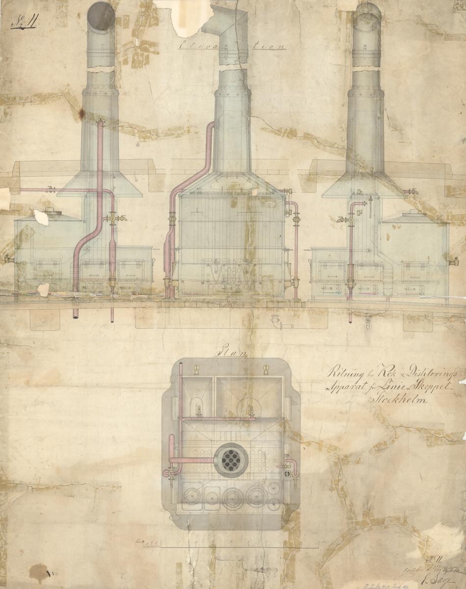 Kok- och destilleringsapparat