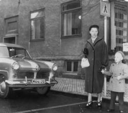 Österbrogatan, Alvar Johansson (1917-1995)s hustru Maria (fö