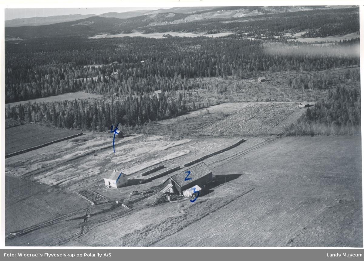Rognhaugdårene, Landåsbygda, Søndre Land