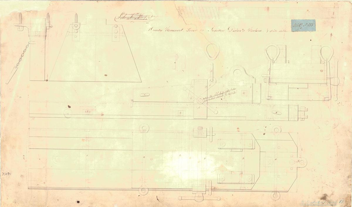 18 pundig karronadlavett till fregatten Desirees barkass