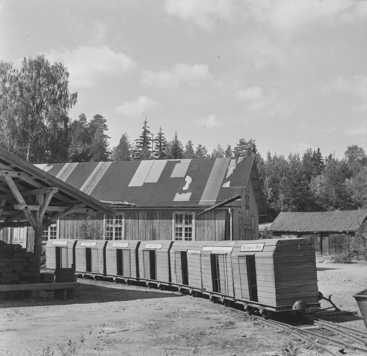 Persontog ved Sølvgruvene på Kongsberg