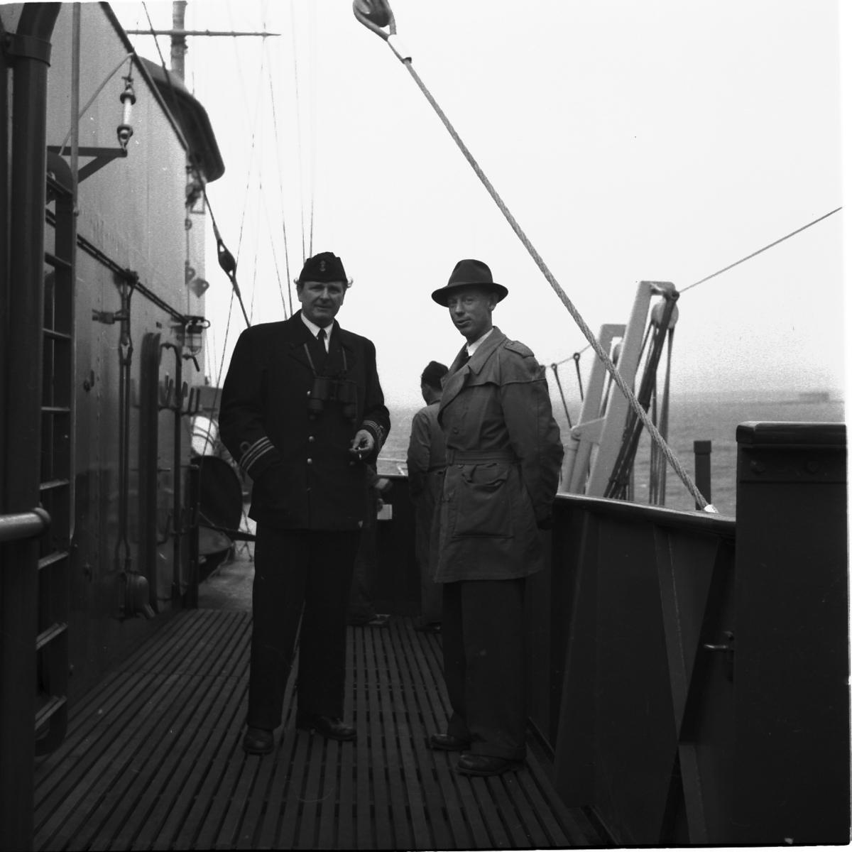 Fartyg: THULE                           Övrigt: Isbrytaren Thules extriör