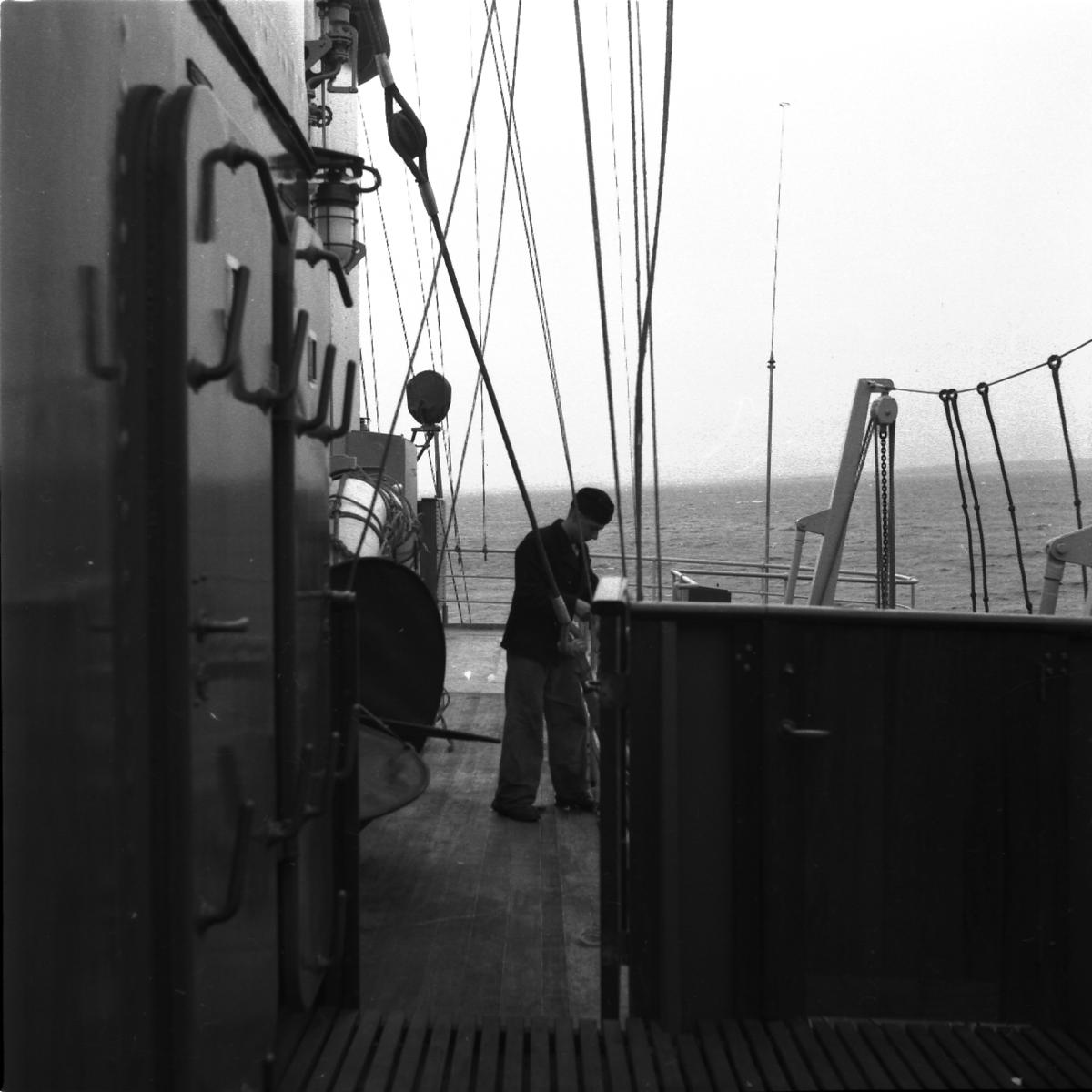 Fartyg: THULE                           Övrigt: Isbrytaren Thules interiör
