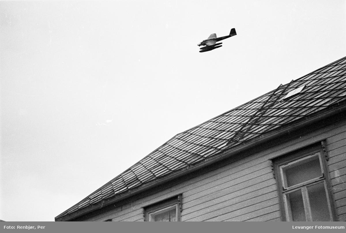 Tysk rekogniseringsfly sees over Levanger IV
