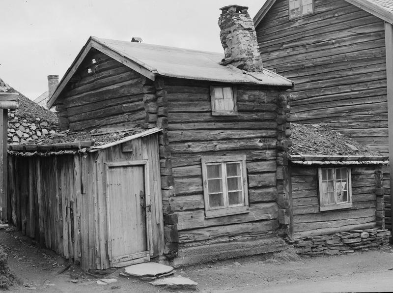 Historisk fotografi av Løssistuggu