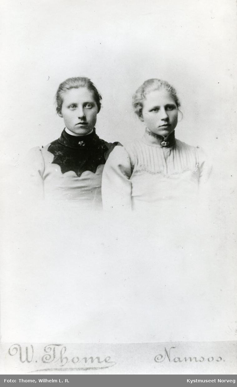 Mathilde Strøm Stamnes og Laura Strøm Høstland