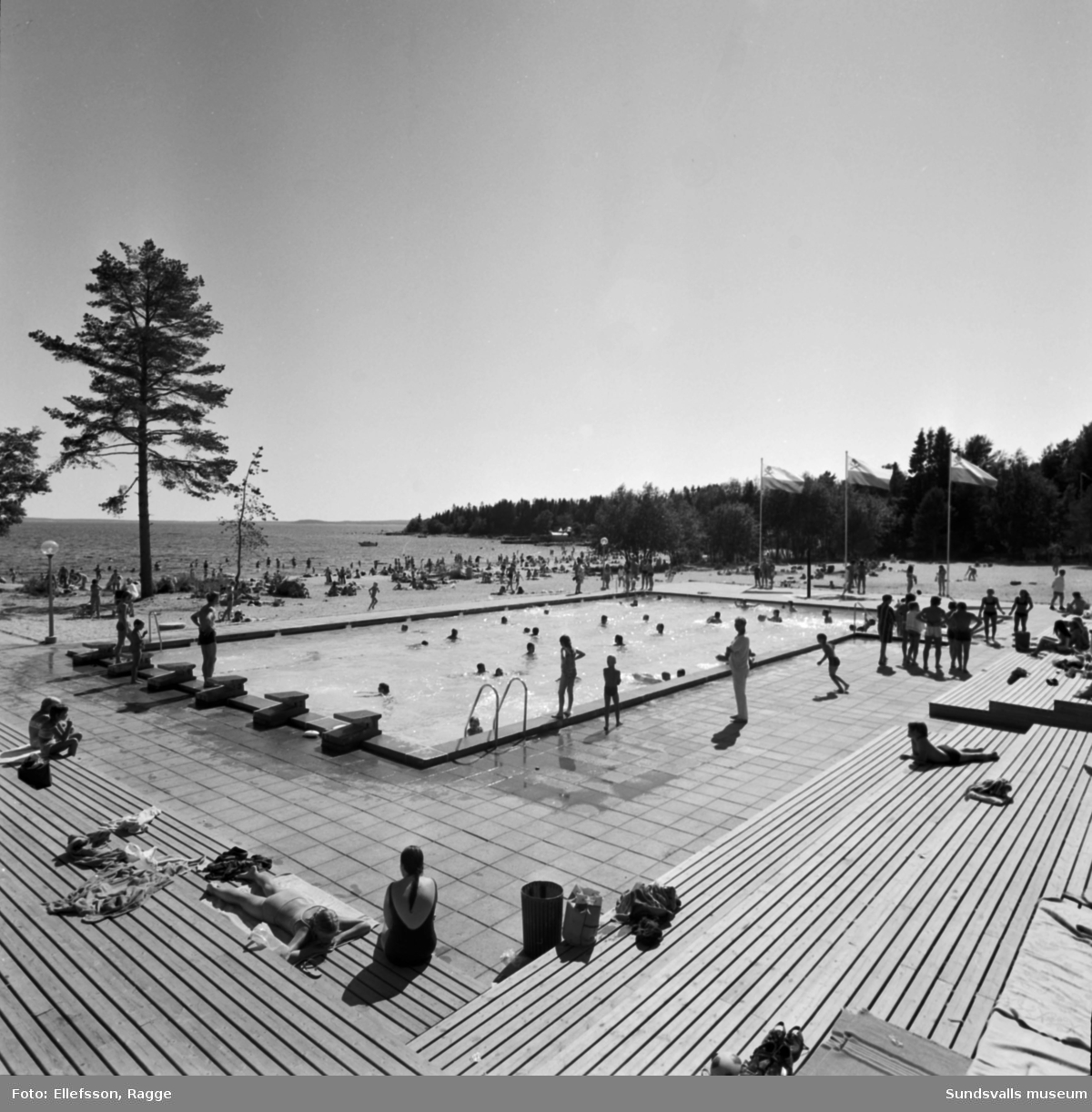 Tranvikens badplats.