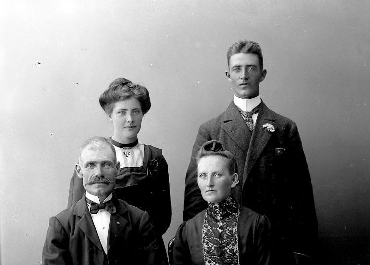 """Enligt fotografens journal nr 2 1909-1915: """"Andersson, Aug. Vimingstorp J-da""""."""