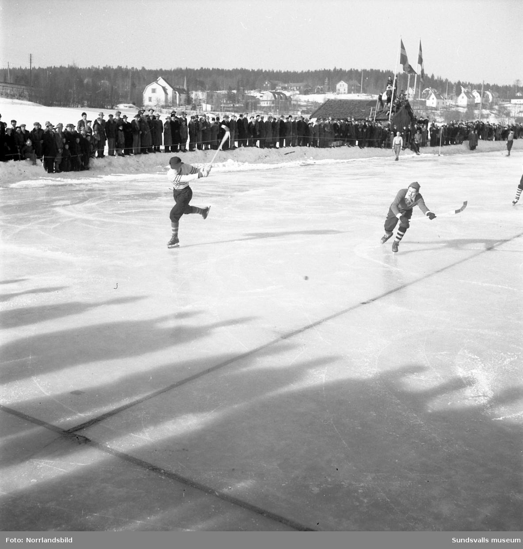 Landskapsmatch i bandy, Medelpad-Ångermanland.
