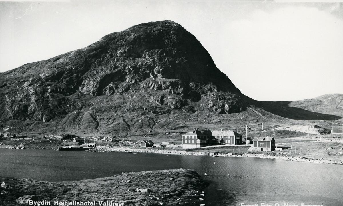 Bygninger ved Bygdin høyfjellshotell