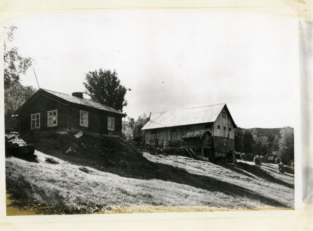 Hjemmet til Marit i Haga i Lomen, Vestre Slidre. Hun ofret seg for de syke i bygda og gjorde hjemmet sitt om til en slags sykestue.