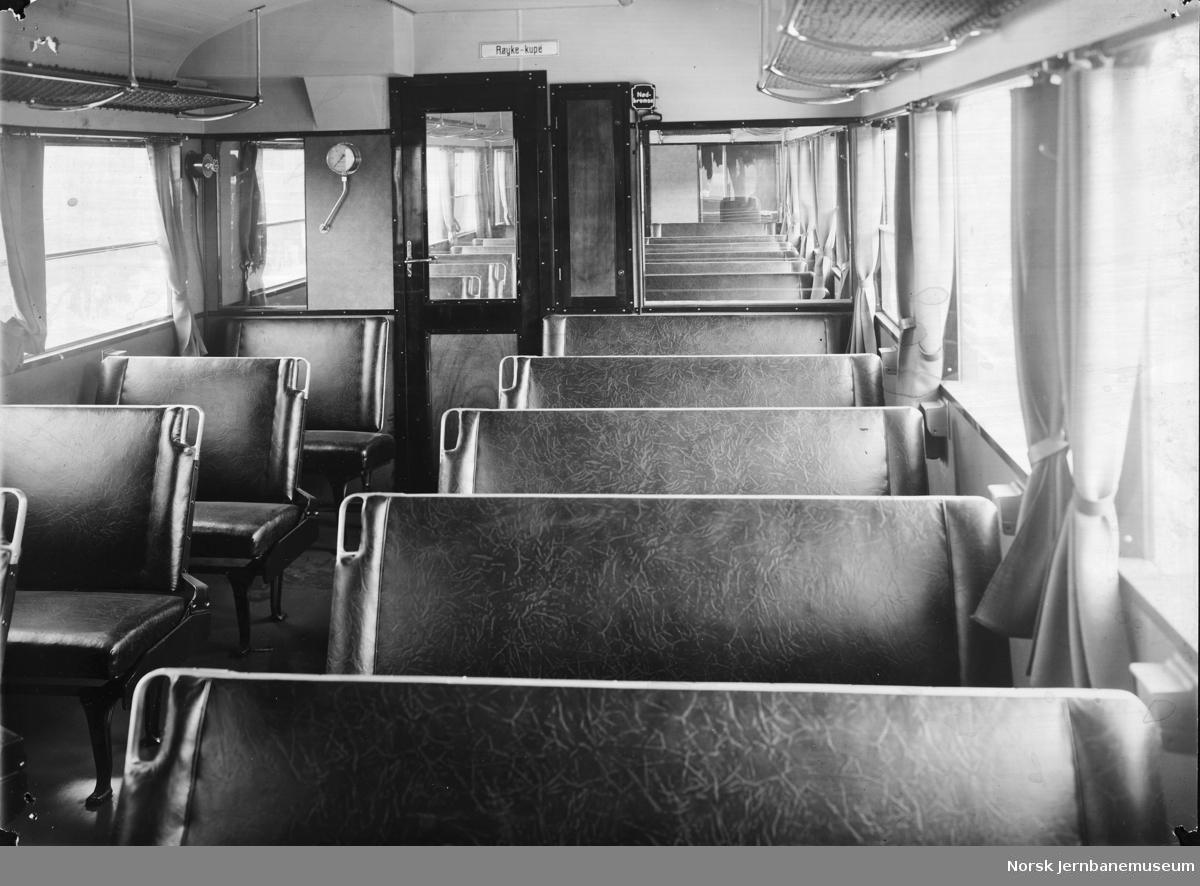 Interiørbilde fra motorvogn type 86c/d
