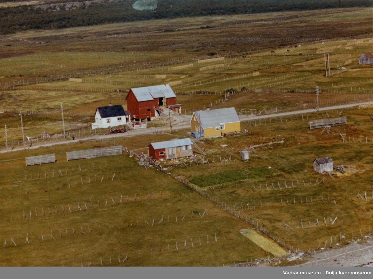 Flyfoto av Kariel, Vadsø kommune, 1963.