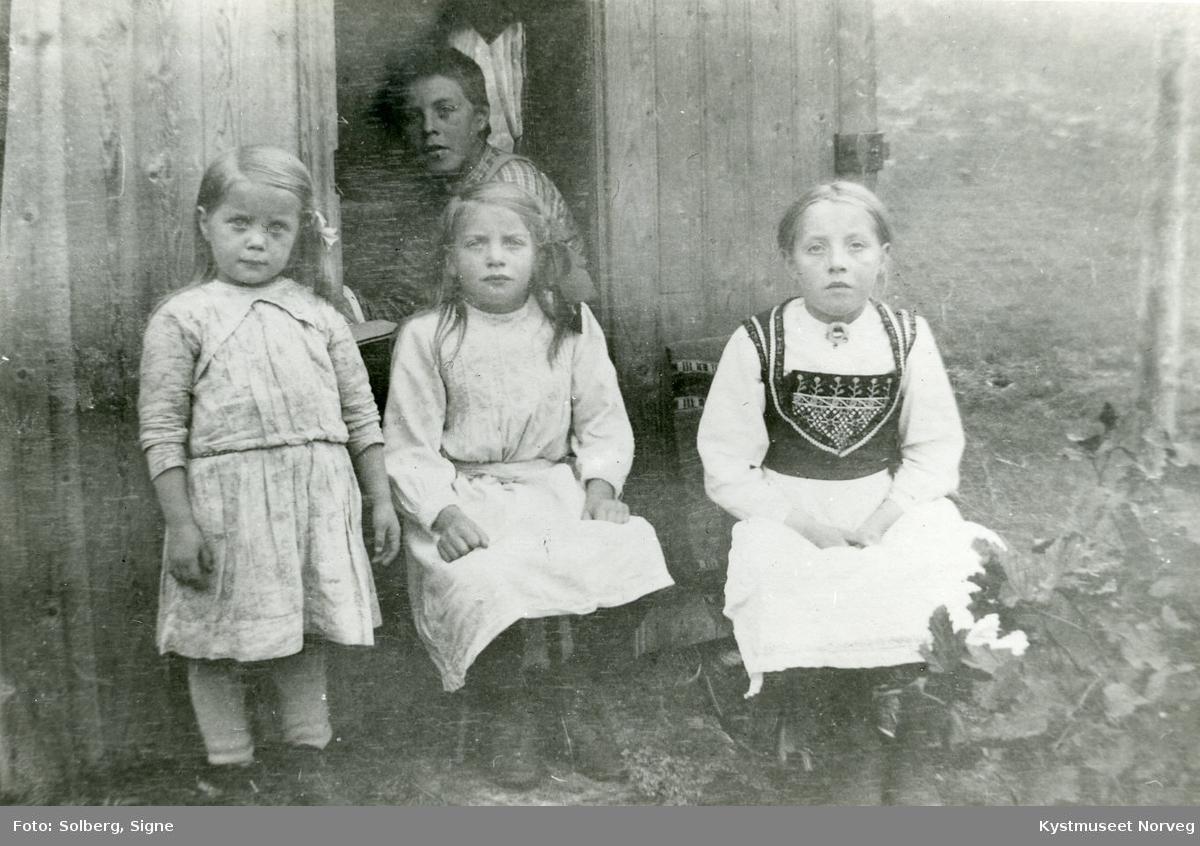 Sofie, Margreth, Johanna og Harald Fuglår