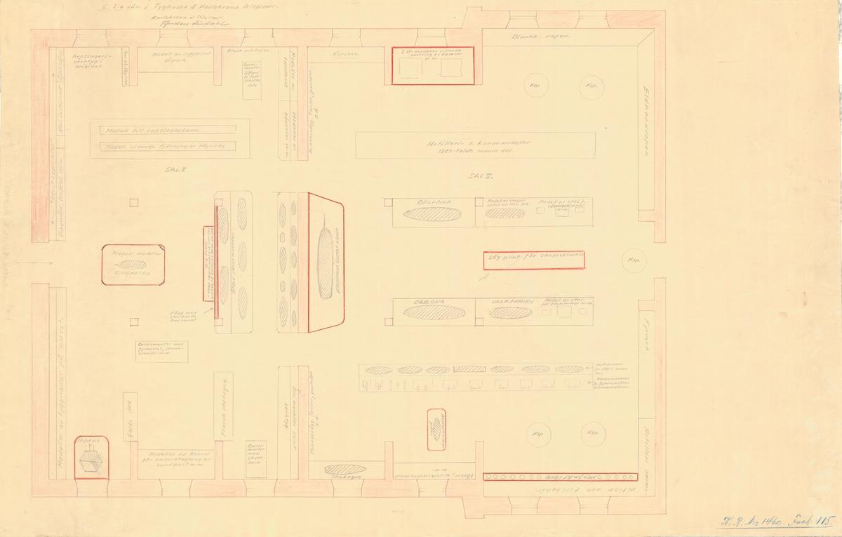 Inredningsritning/utställningsritning