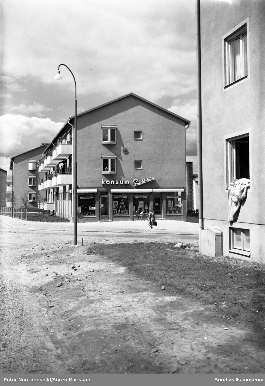 Konsumbutik på Dalgatan 32.