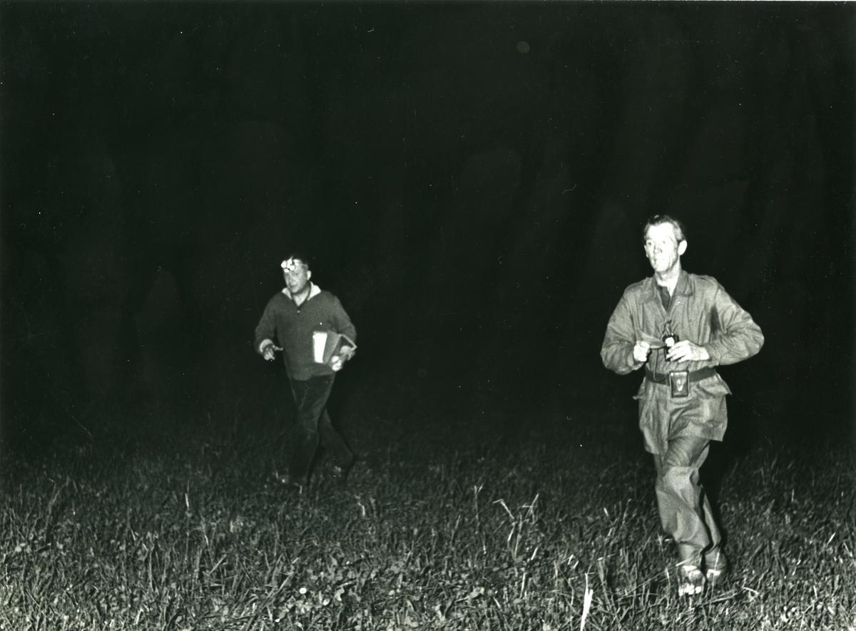 Regementsmästerskap, nattorientering, A 6. Kn Timén och Radetzky.
