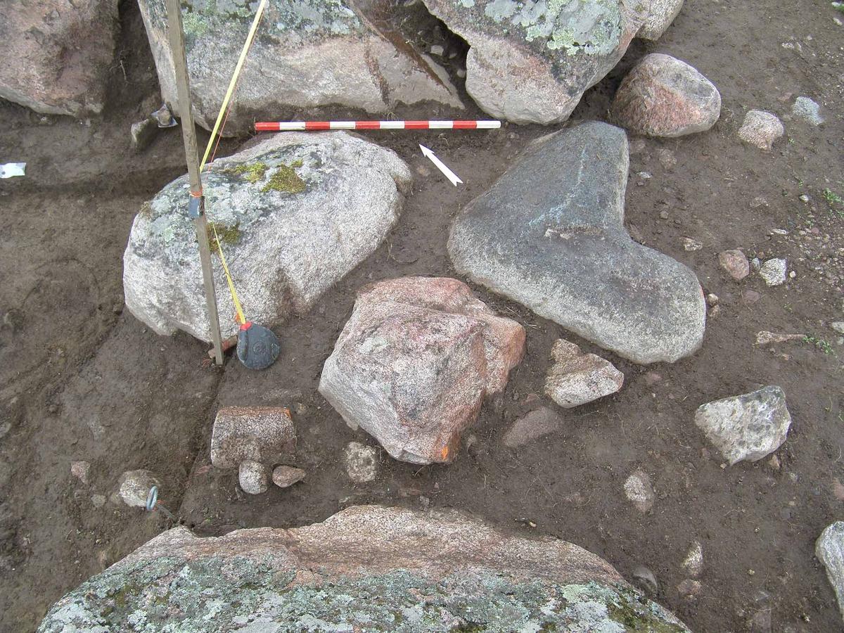 Arkeologisk slutundersökning, grav A29900, Berget, Gamla Uppsala, Uppsala 2008