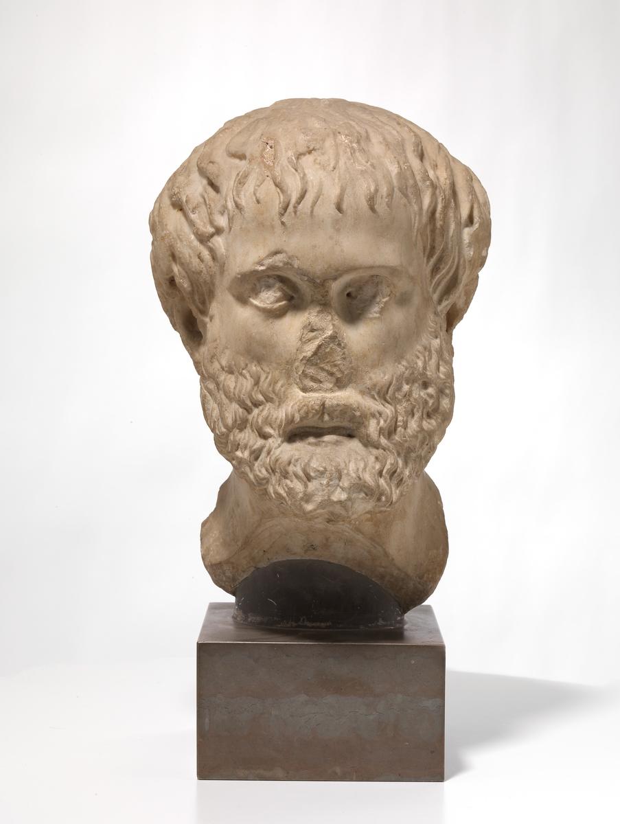 Portrett av Aristoteles-typen [Hode]