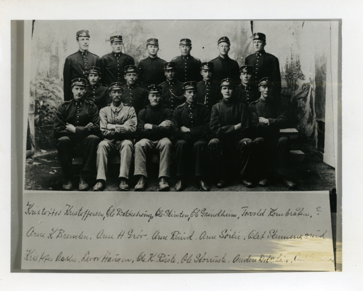 Hedøler på nøytralitetsvakt i 1905