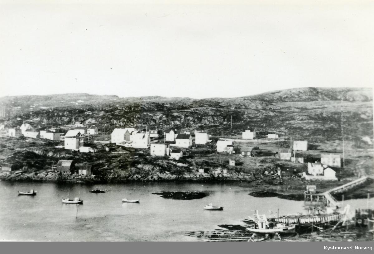 Rørvik -  Kvaløybyen sett fra Strømsøya
