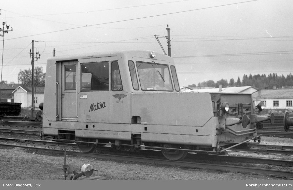 Målevogn litra Xkt nr. 5000, kat.nr. 100-02, fabrikat Matisa